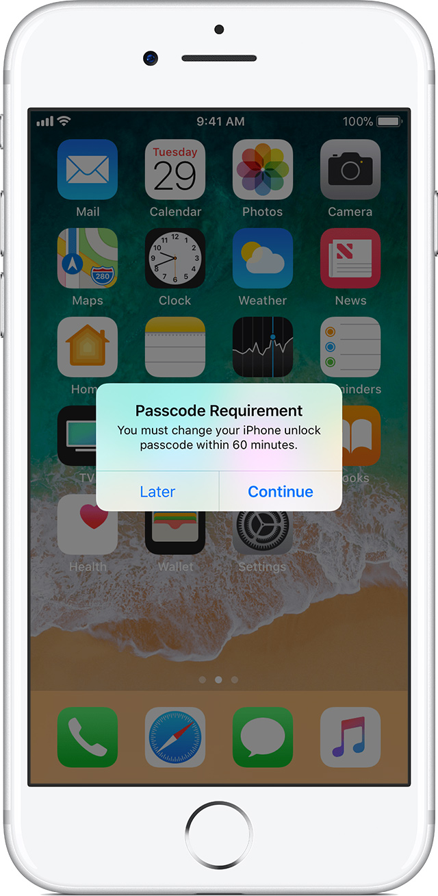 iphone touch screen not working cant unlock use a passcode with your iphone or ipod touch 9528