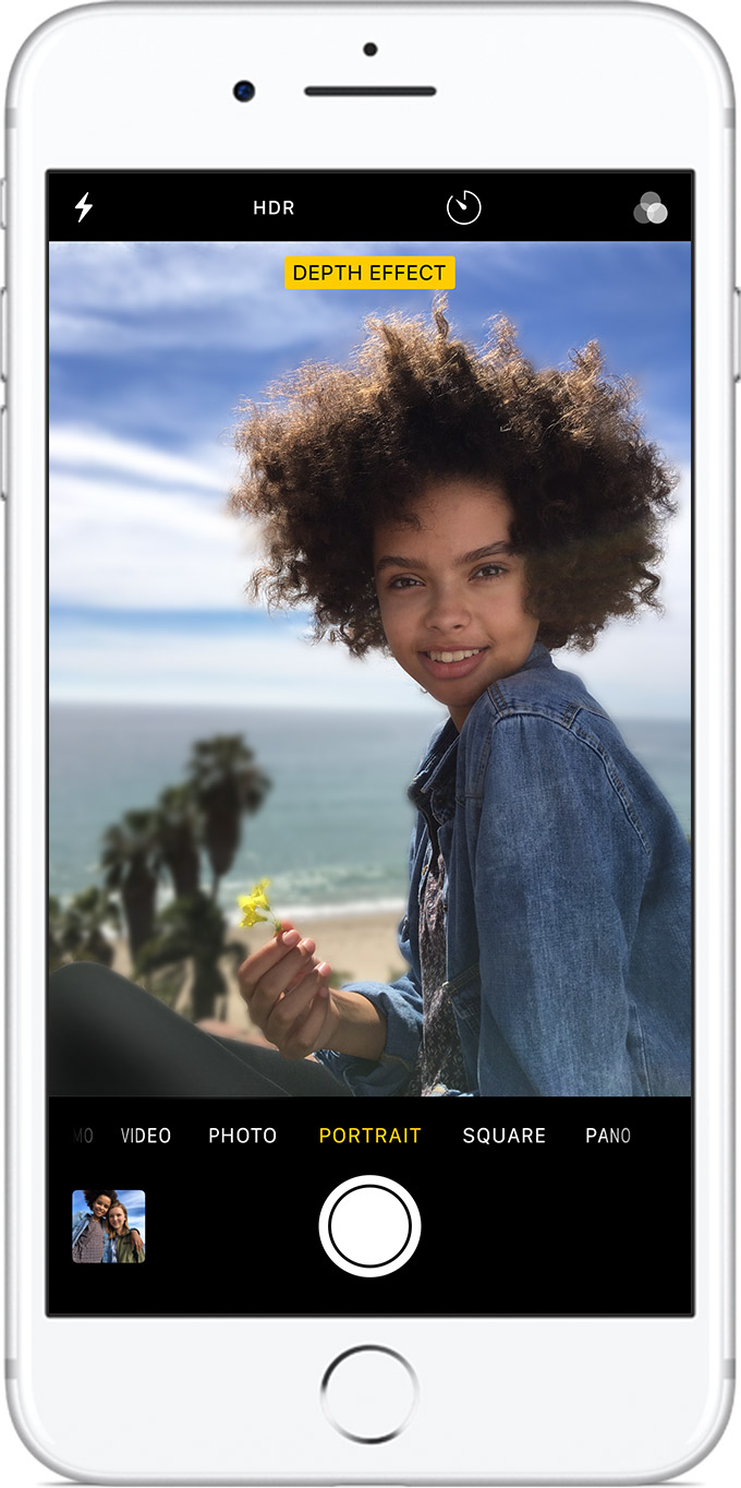 Portrait mode front facing camera don'… - Apple Community