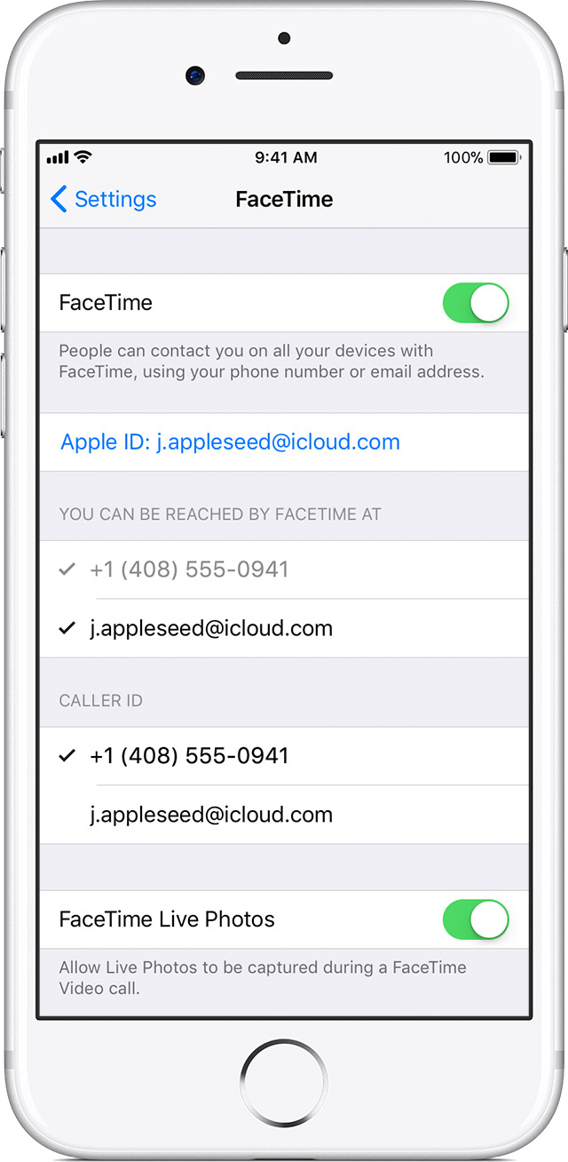 Use FaceTime with your iPhone, iPad, or iPod touch