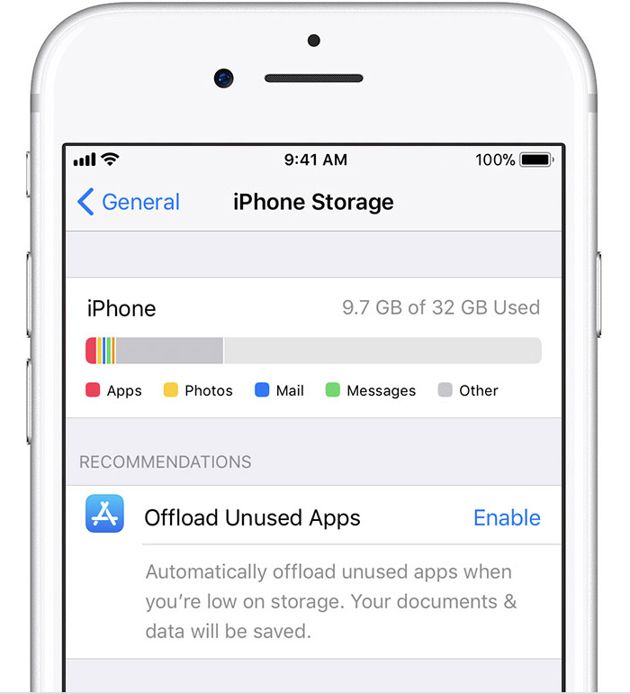 iphone manage storage manage your photo and storage apple support 12021