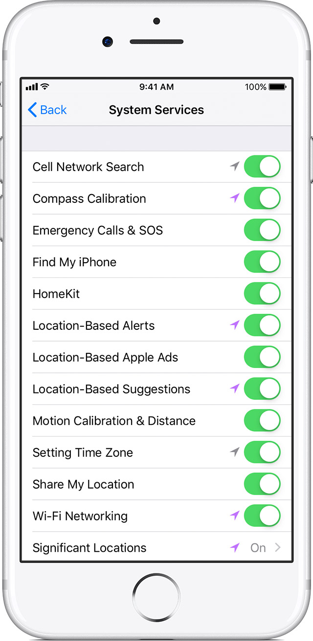 turn off location on iphone how to turn location on iphone 7 location history for 18109