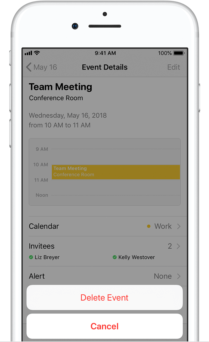 Manage Exchange meeting invitations on your iPhone, iPad, or