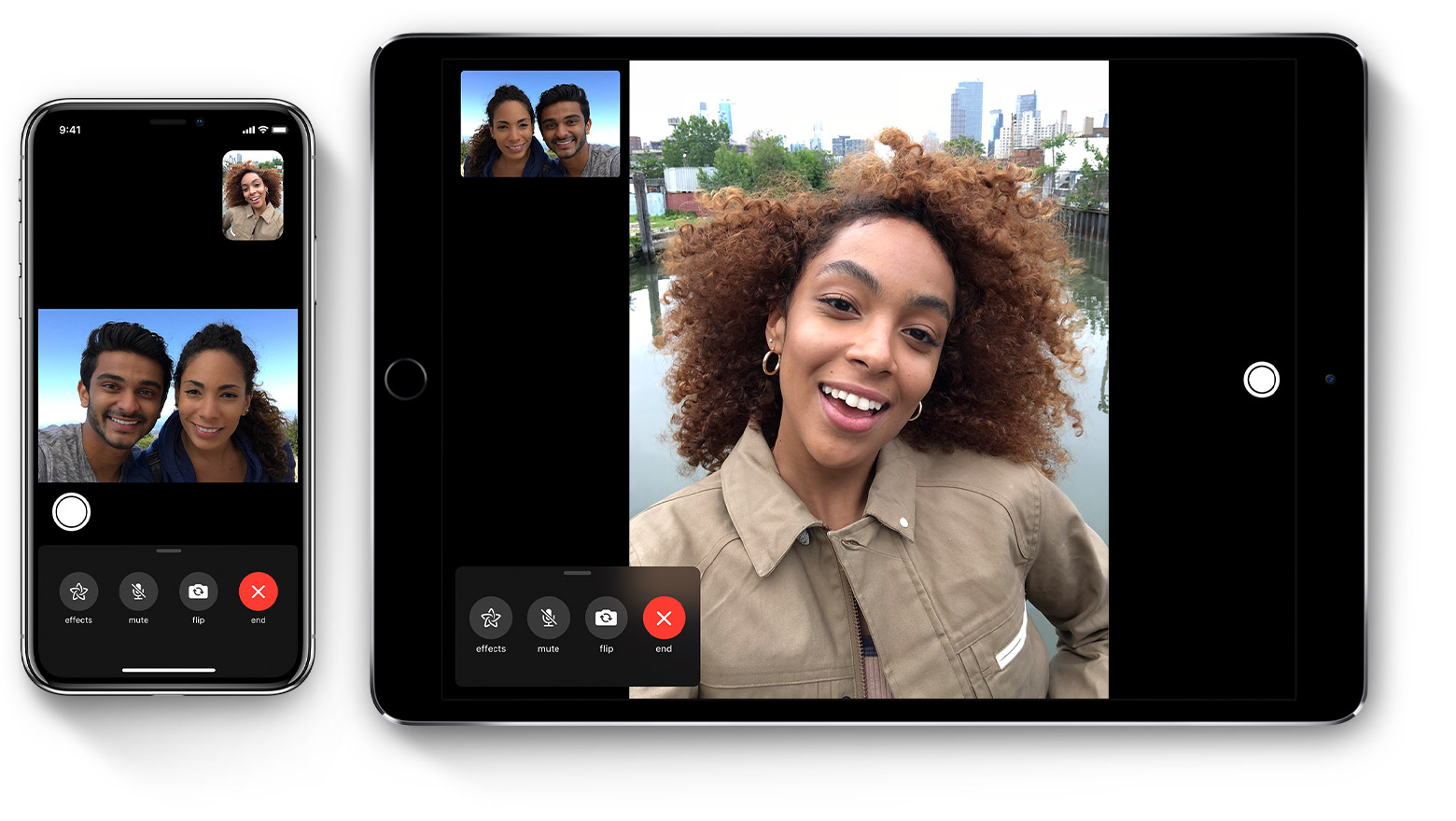 Use FaceTime with your iPhone, iPad, or iPod touch - Apple