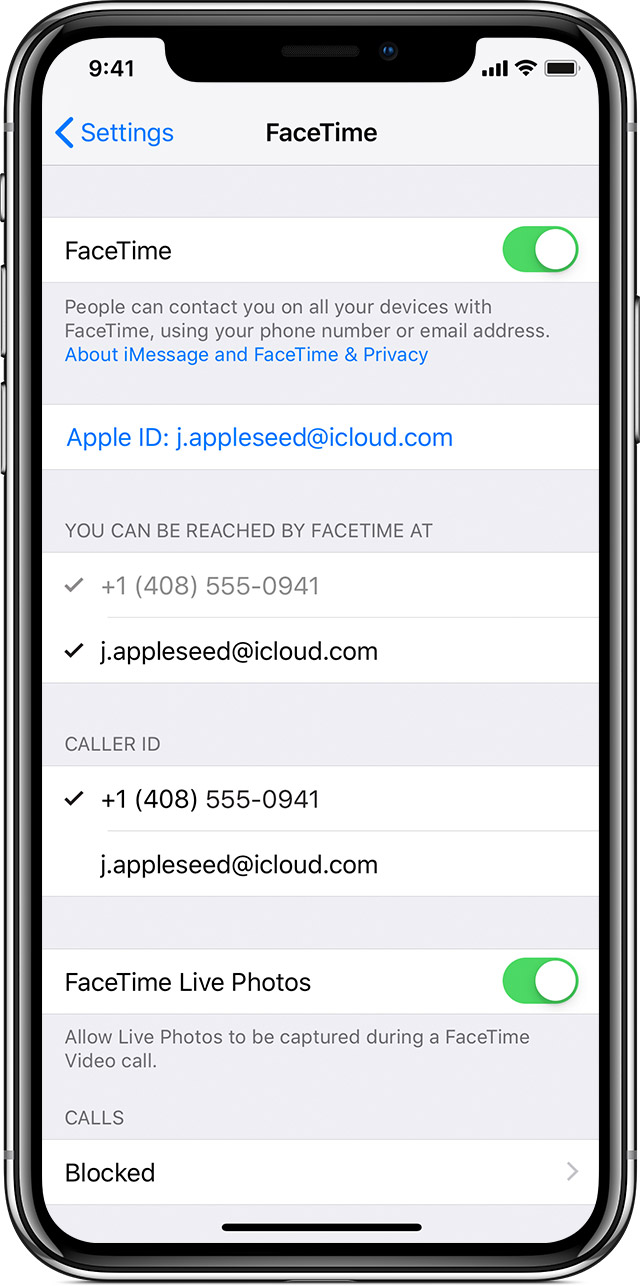 Use Facetime With Your Iphone Ipad Or Ipod Touch Apple Support