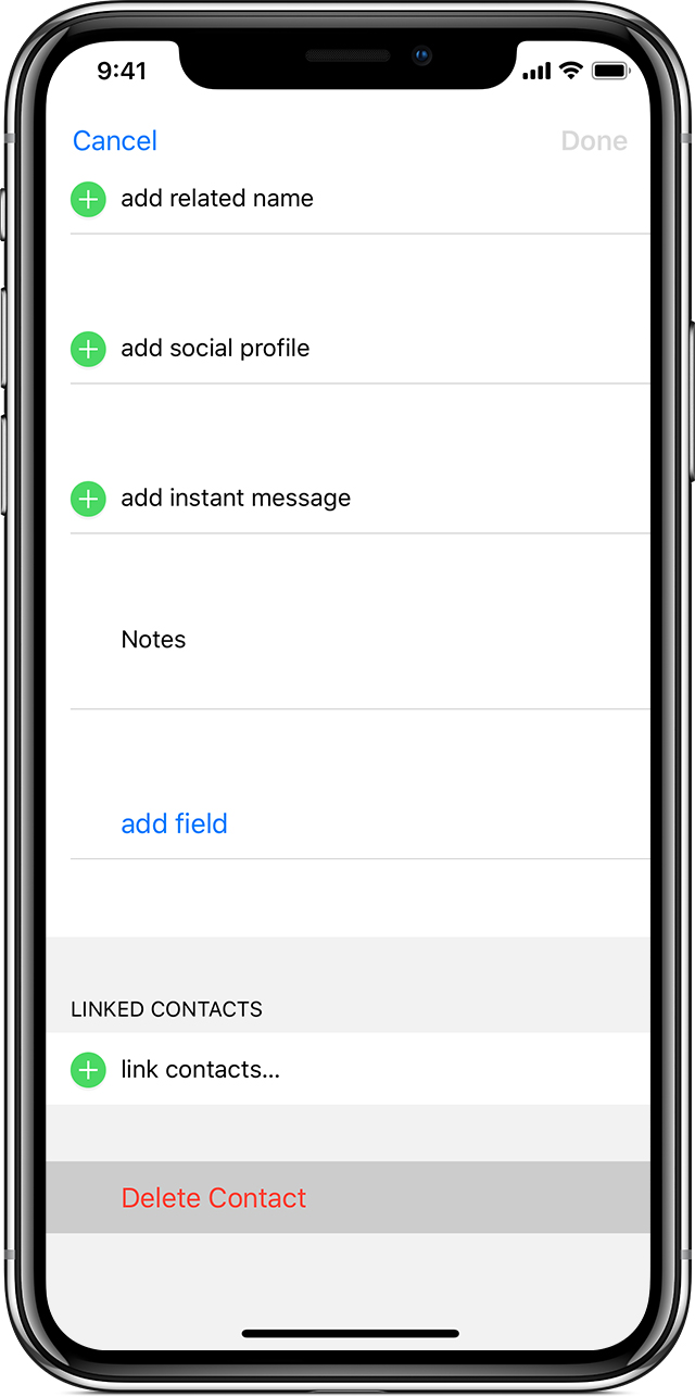 How to setup an email account on the new iPhone X