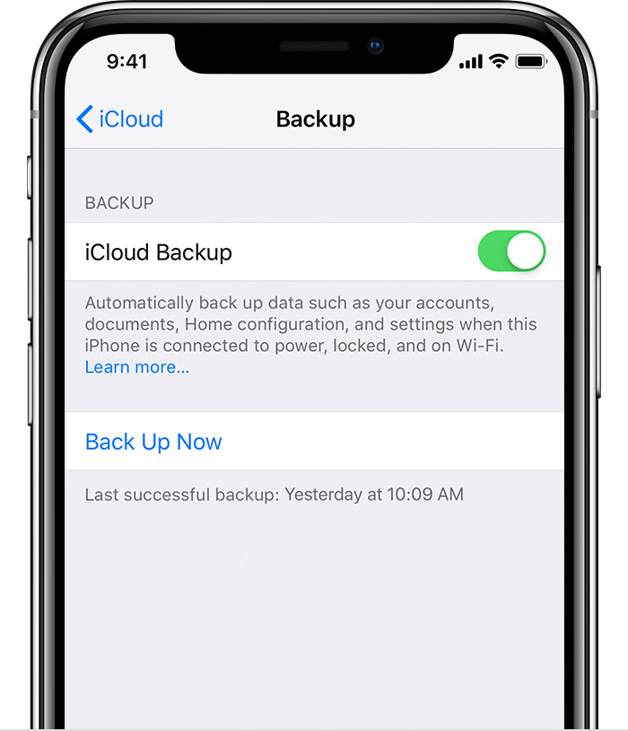 How to back up your iPhone, iPad, and iPod touch - Apple Support