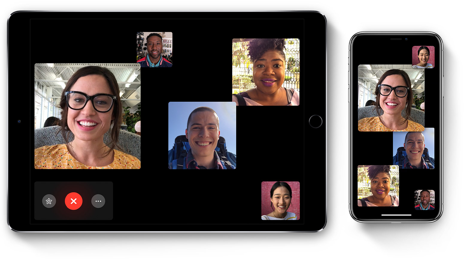 To use Group FaceTime video calls, you need an iPhone 6s or later, iPad Pro  or later, iPad Air 2, or iPad Mini 4 with iOS 12.1. Earlier models of  iPhone, ...
