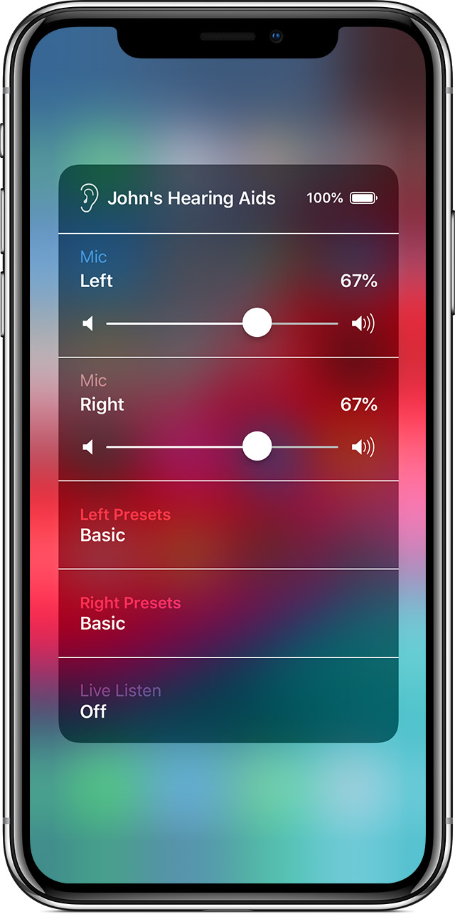 screen showing Accessibility Shortcut on iPhone
