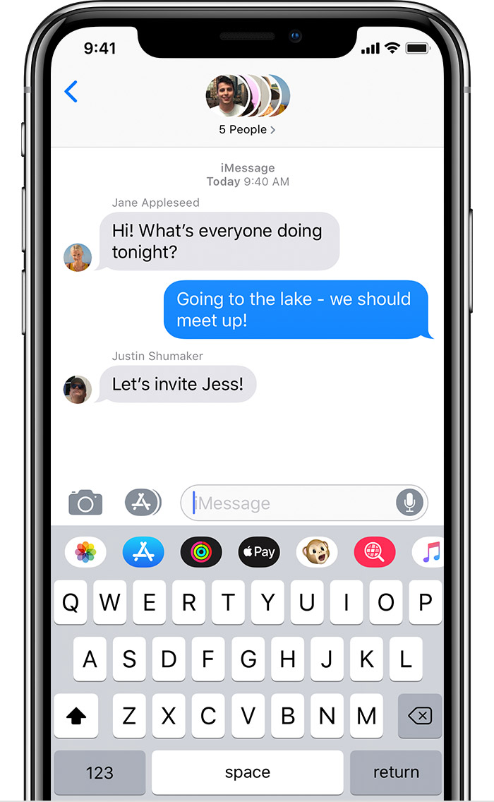 Send a group message on your iPhone, iPad, or iPod touch - Apple Support