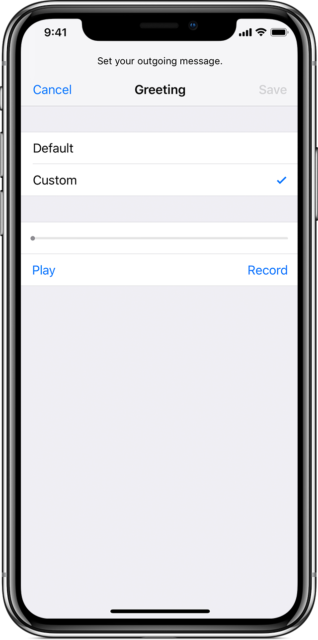 iphone visual voicemail set up visual voicemail on your iphone apple support 12443