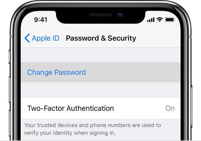 Come gestire le password sull'iPhone e iPad
