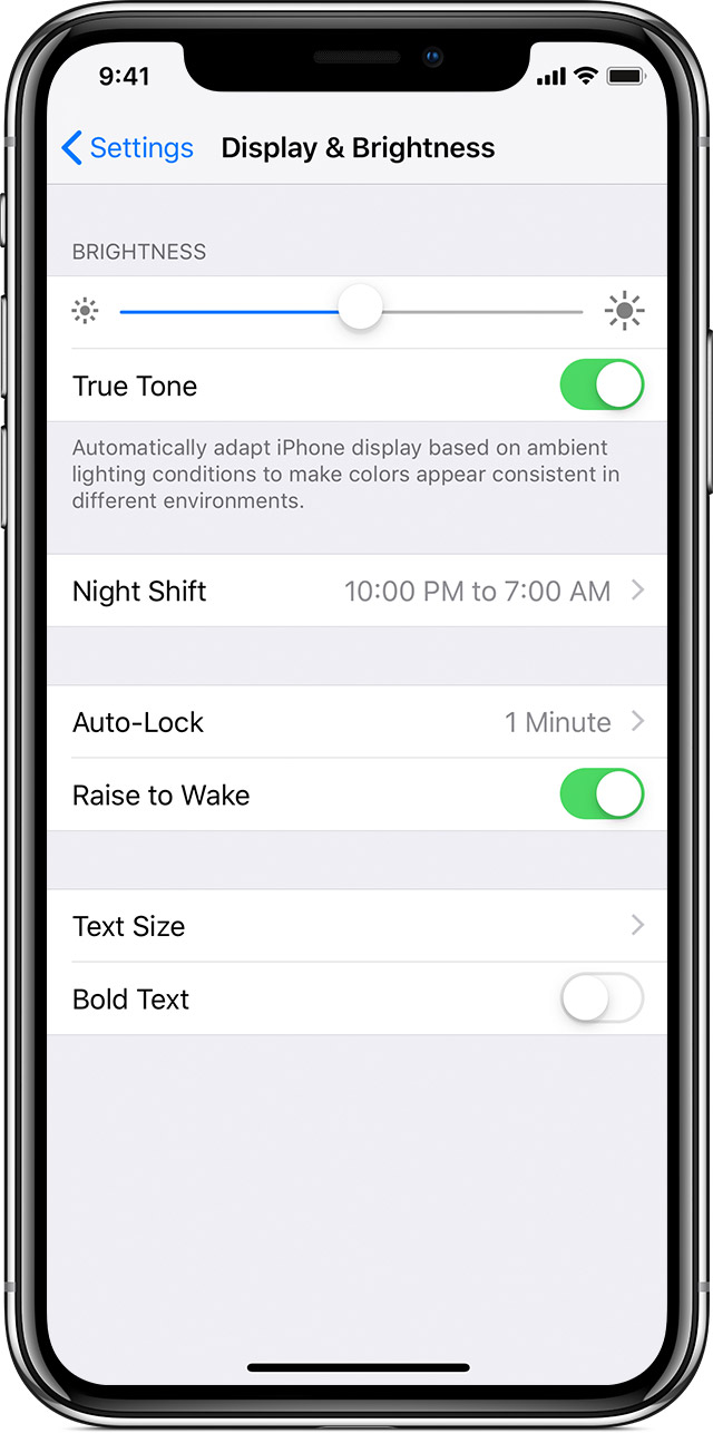 Adjust The Brightness On Your Iphone Ipad Or Ipod Touch Apple Baterai 5 In Settings