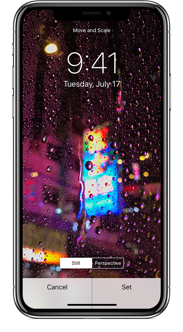 You need an iPhone 6s or later to use Live Photo and Live wallpaper.