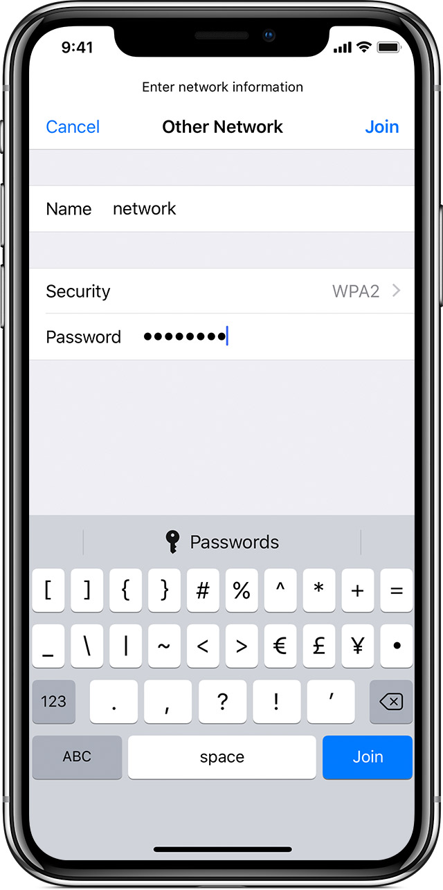 iphone password not working connect to wi fi on your iphone or ipod touch 3129