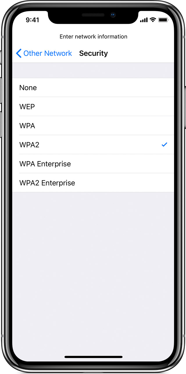 Connect to Wi-Fi on your iPhone, iPad, or iPod touch - Apple