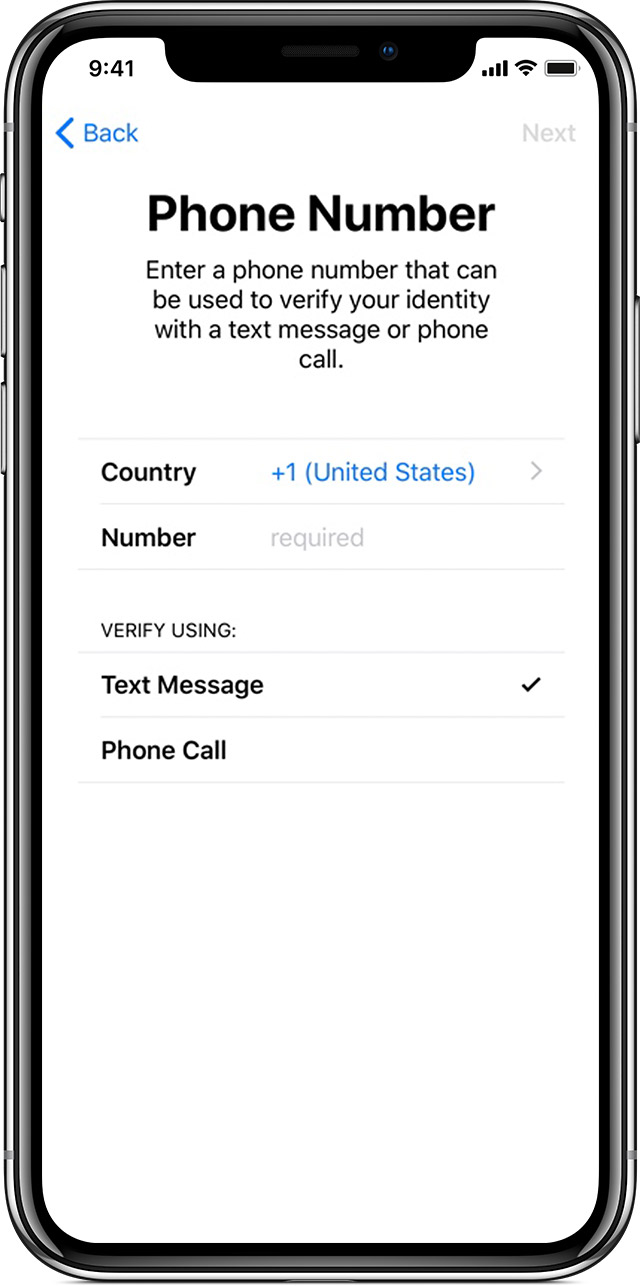 Availability of two-factor authentication for Apple ID - Apple Support