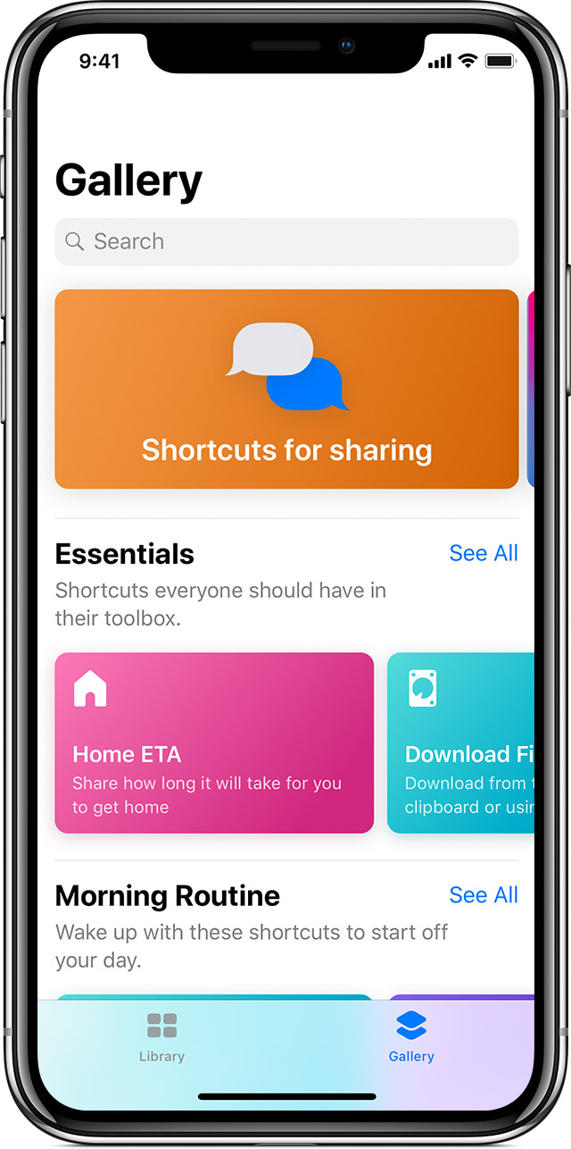 Use the Shortcuts app on your iPhone or iPad - Apple Support