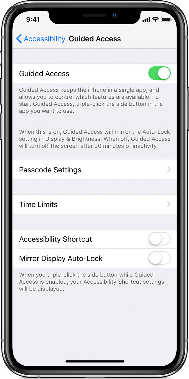 Use Guided Access with iPhone, iPad, and iPod touch - Apple Support