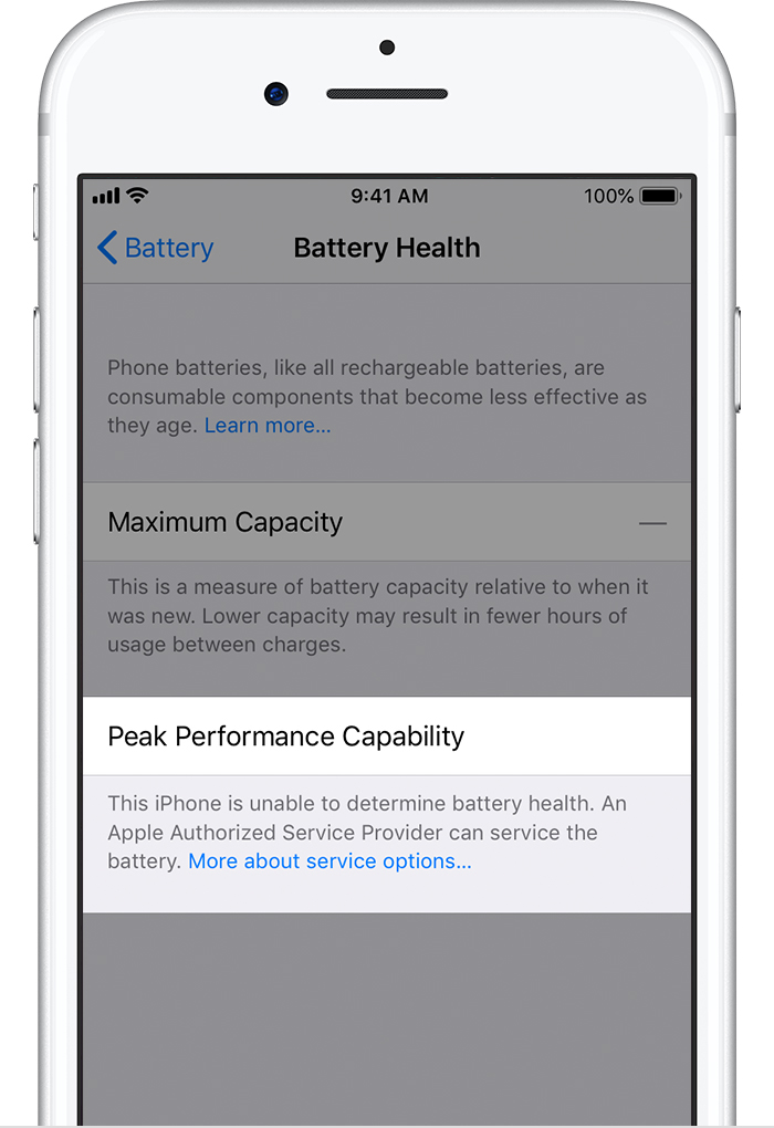 Iphone Battery And Performance Apple Support