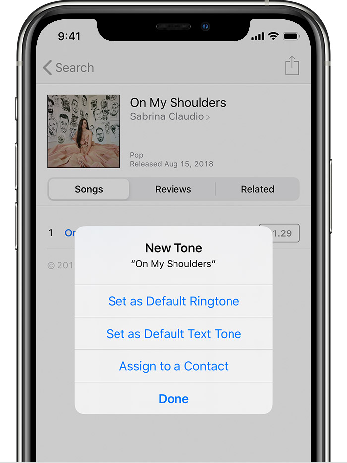 Use Tones And Ringtones With Your Iphone Ipad Or Ipod Touch Apple Support