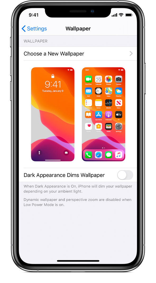 Change The Wallpaper On Your Iphone Apple Support