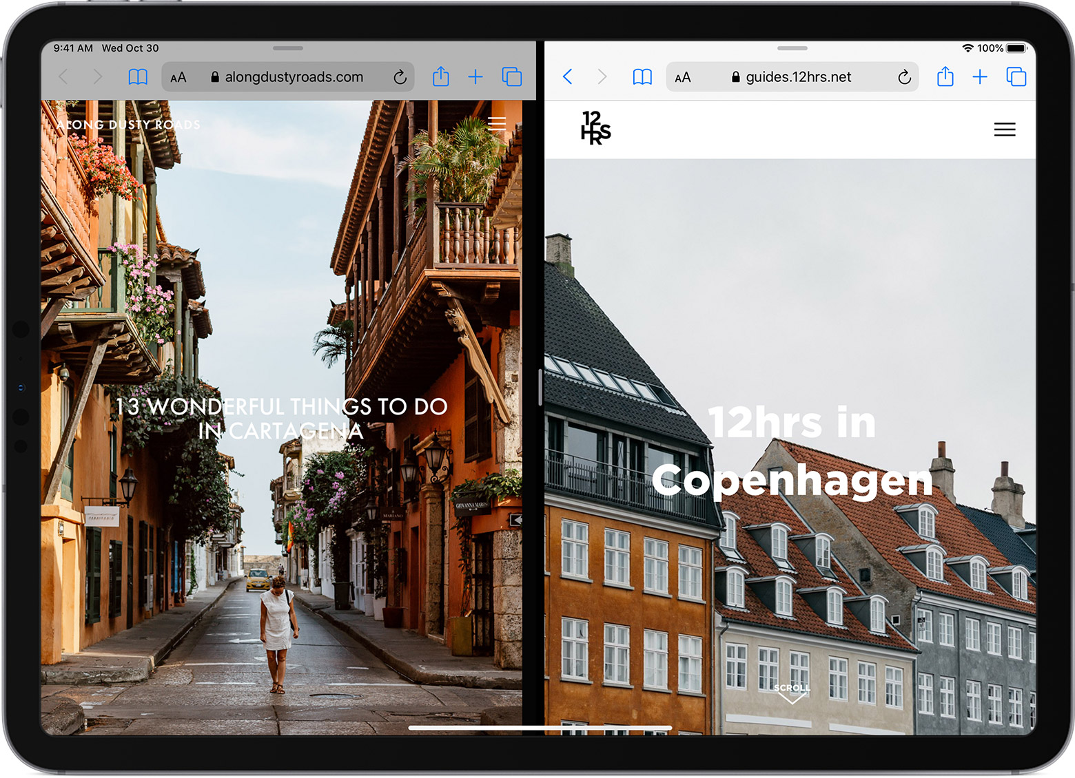 How To Split Screen In Safari On Your Ipad Apple Support
