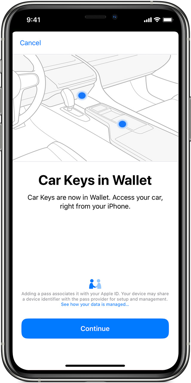 Use Your Iphone Or Apple Watch As A Car Key Apple Support