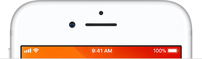 where is the speaker icon on iphone 6