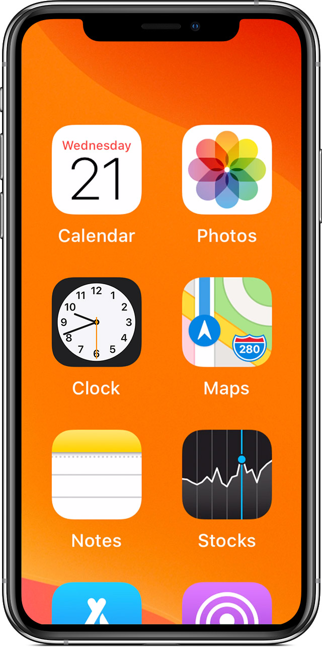 If your Home screen icons are magnified on your iPhone, iPad, or