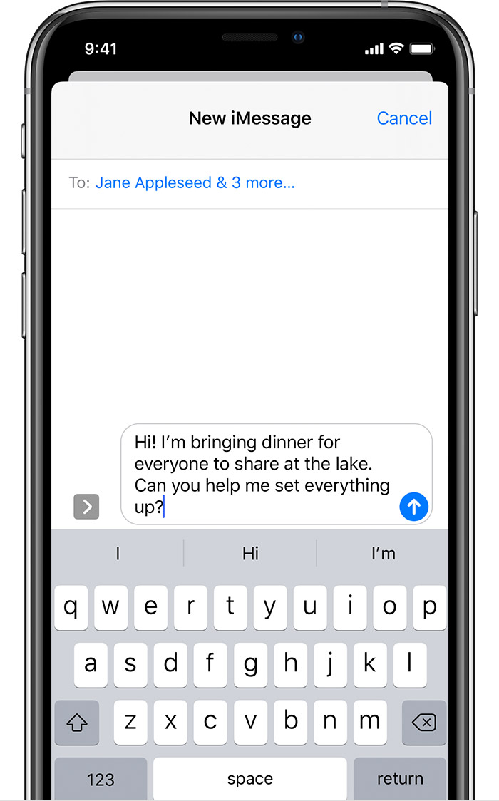 send a group text message on your iphone  ipad  or ipod
