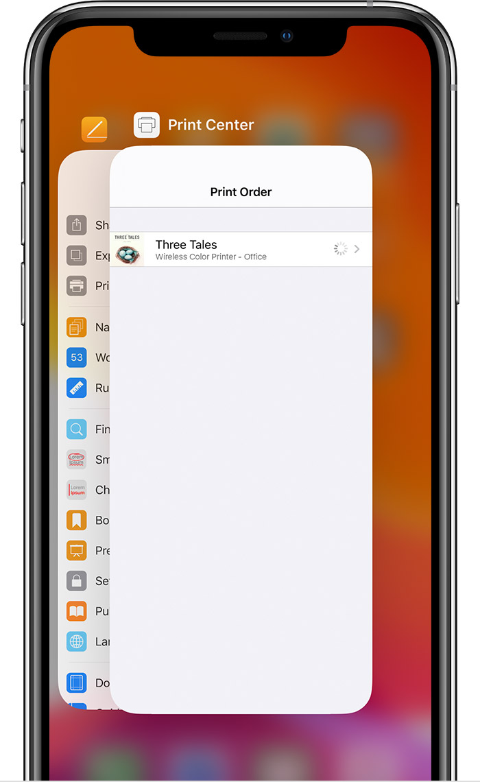Use Airprint To Print From Your Iphone Ipad Or Ipod Touch Apple Support