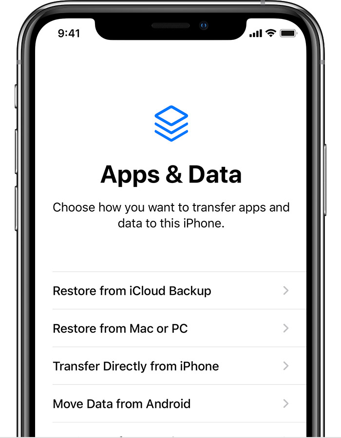 Restoring an iPhone, iPad, or iPod touch backup from iCloud or from a  computer when a later version of iOS or iPadOS is required - Apple Support