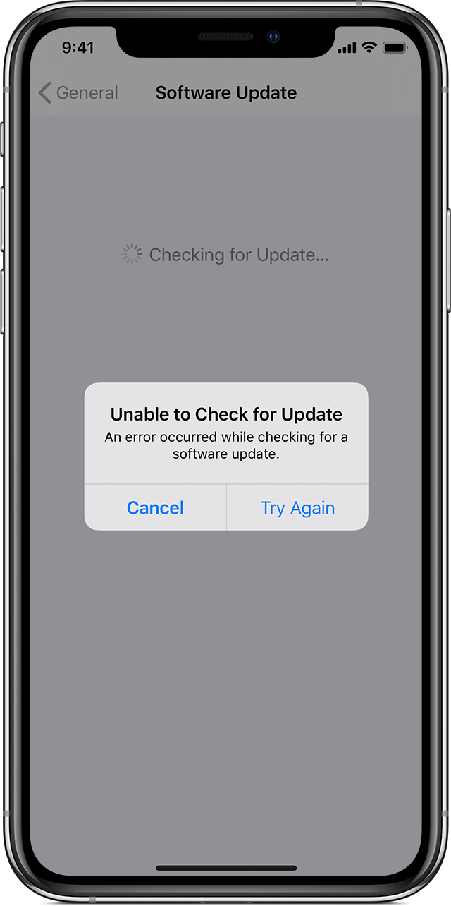 If Your Iphone Ipad Or Ipod Touch Won T Update Apple Support