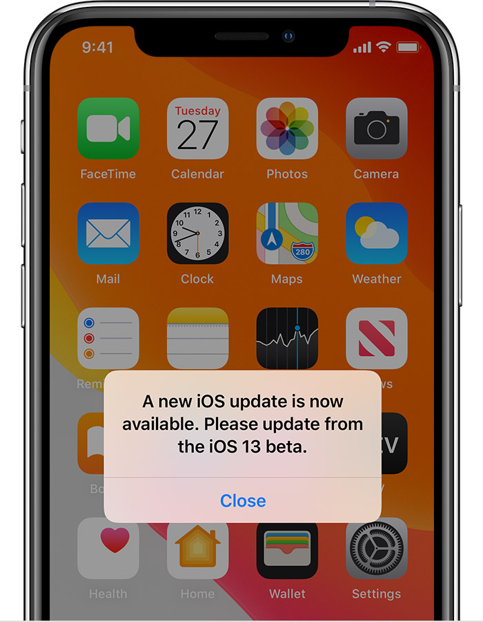 How to downgrade from iOS 14 beta to