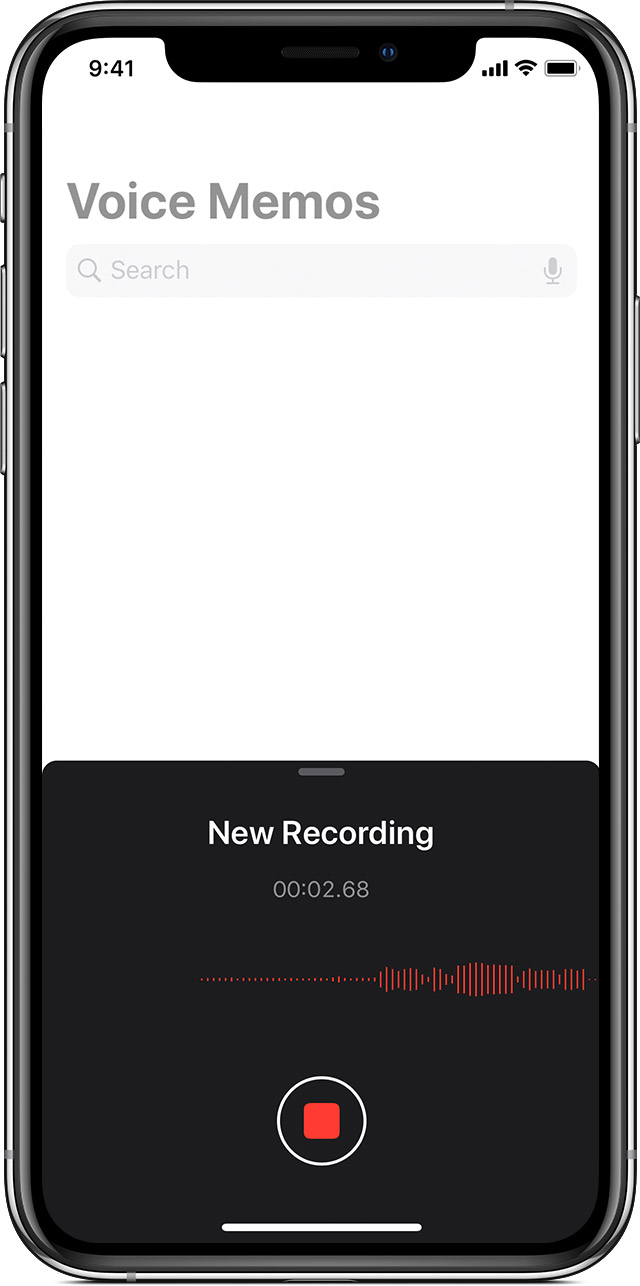Use The Voice Memos App Apple Support