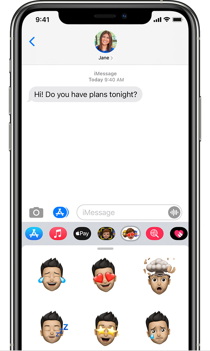 iPhone showing how to find iMessage apps