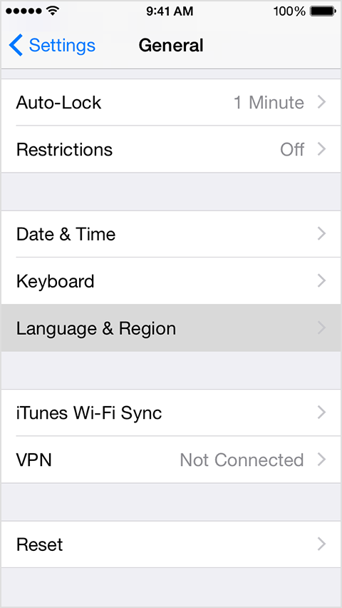 how to change language on iphone change the language on your iphone or ipod touch 2835