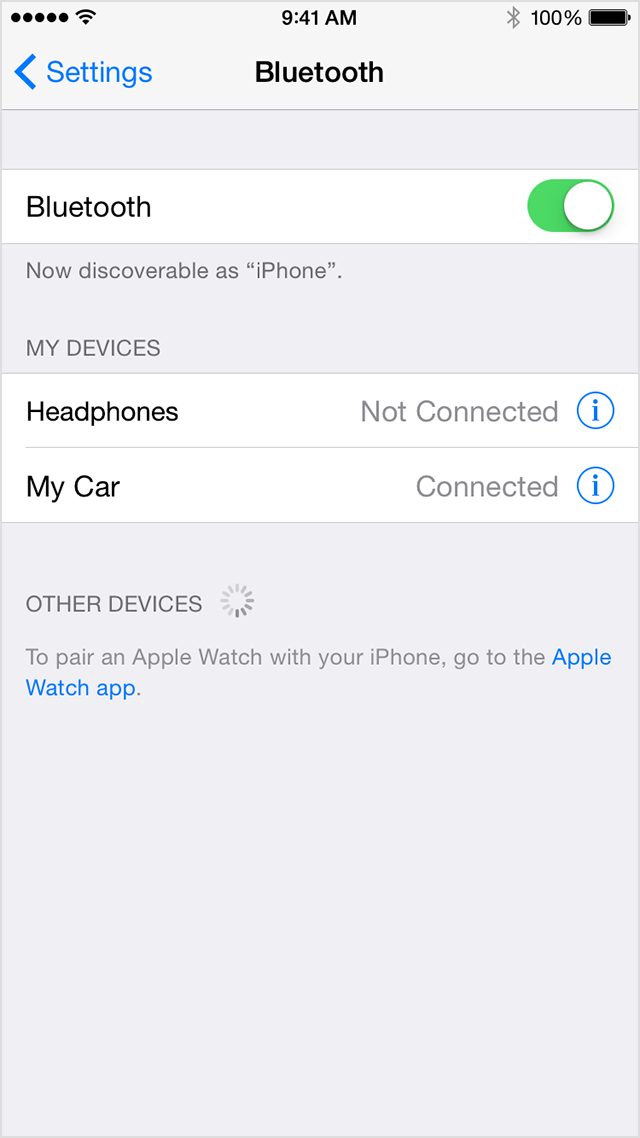 iphone not connecting to bluetooth set up and use third bluetooth accessories apple 17672