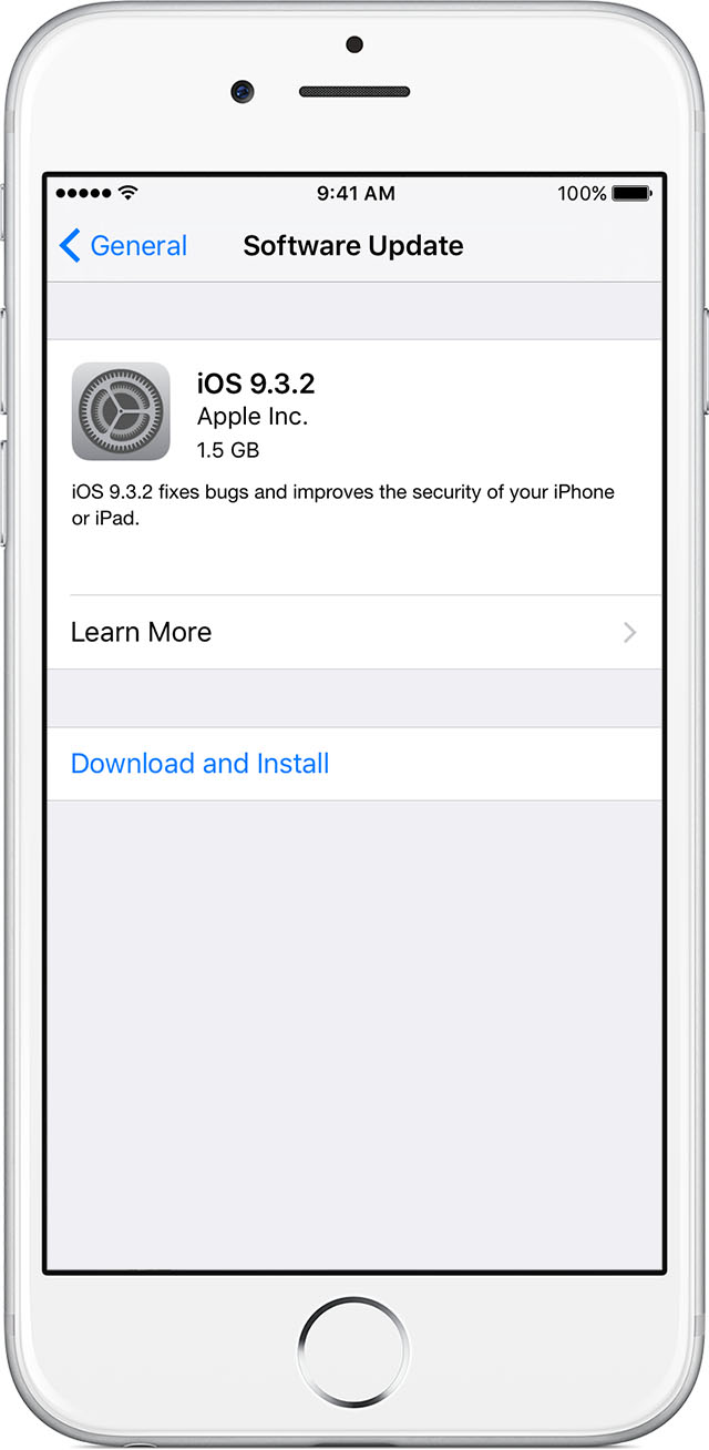 update the ios software on your iphone  ipad  or ipod