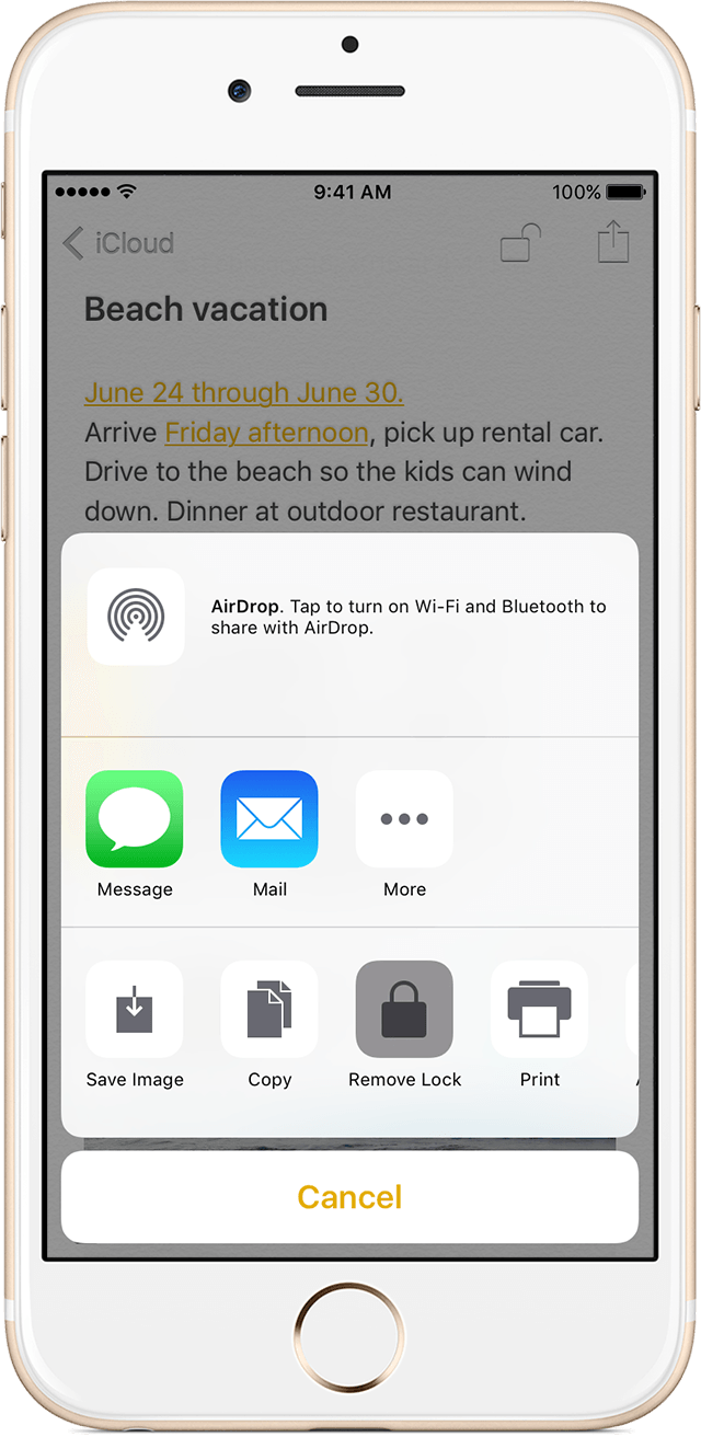 Remove A Lock On Your Iphone