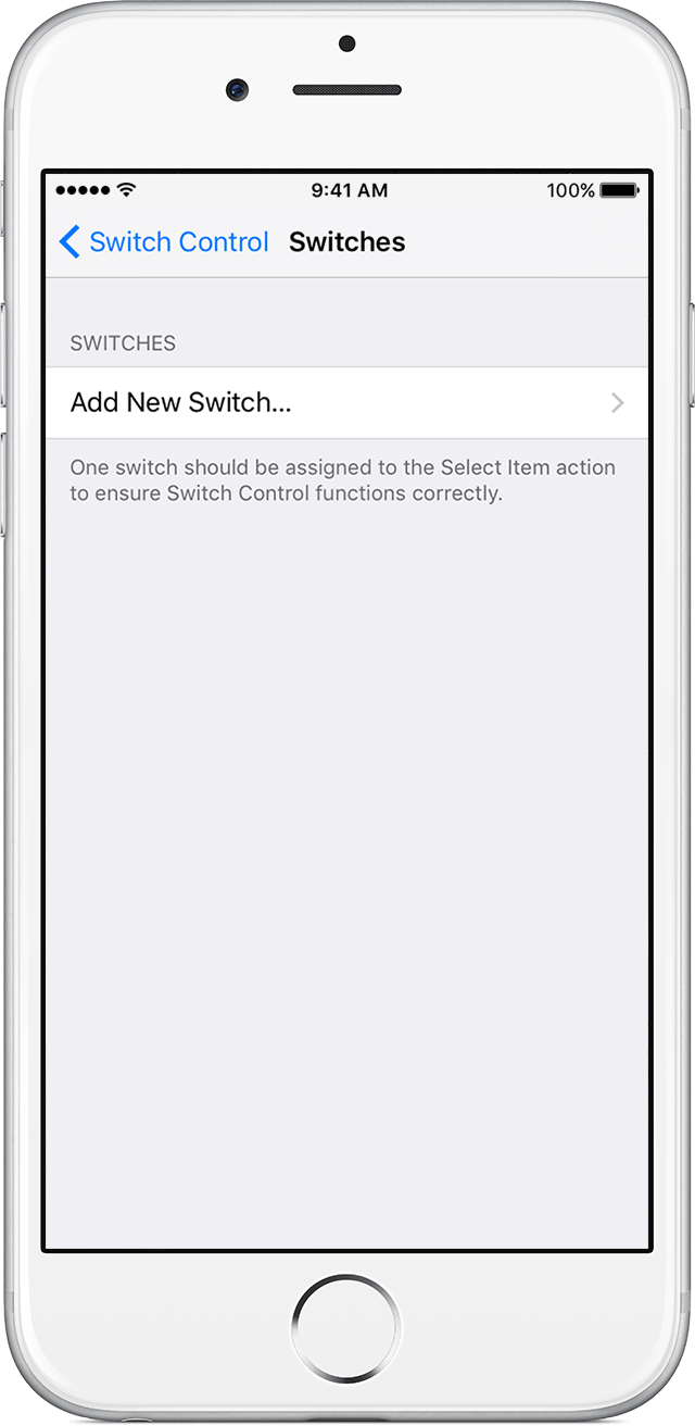 Use Switch Control to navigate your iPhone, iPad, or iPod touch ...