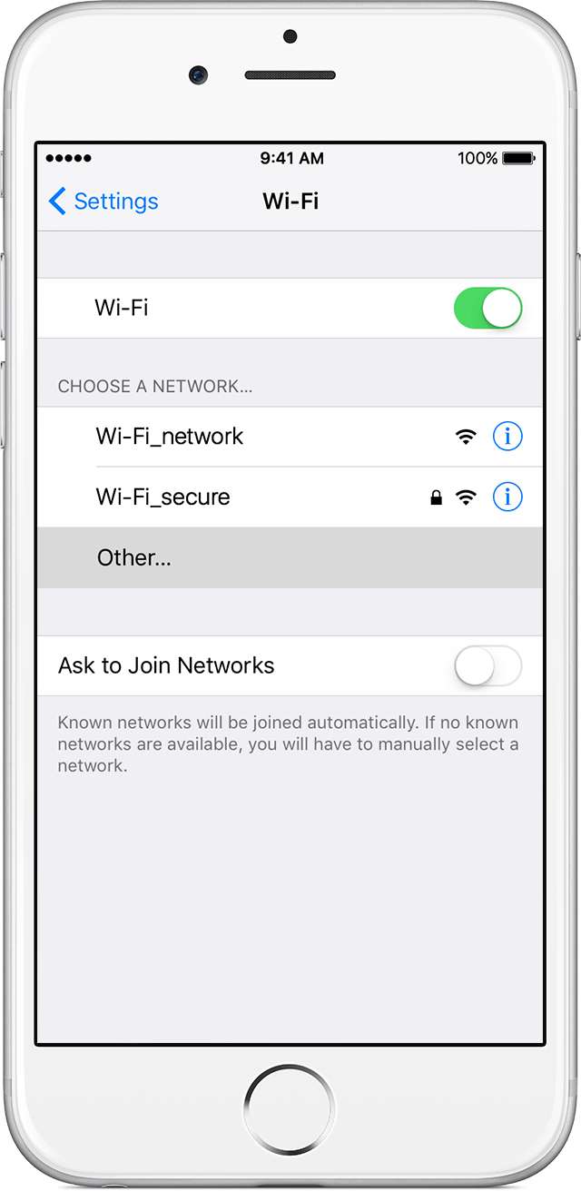 Connect To A Hidden Wifiwork