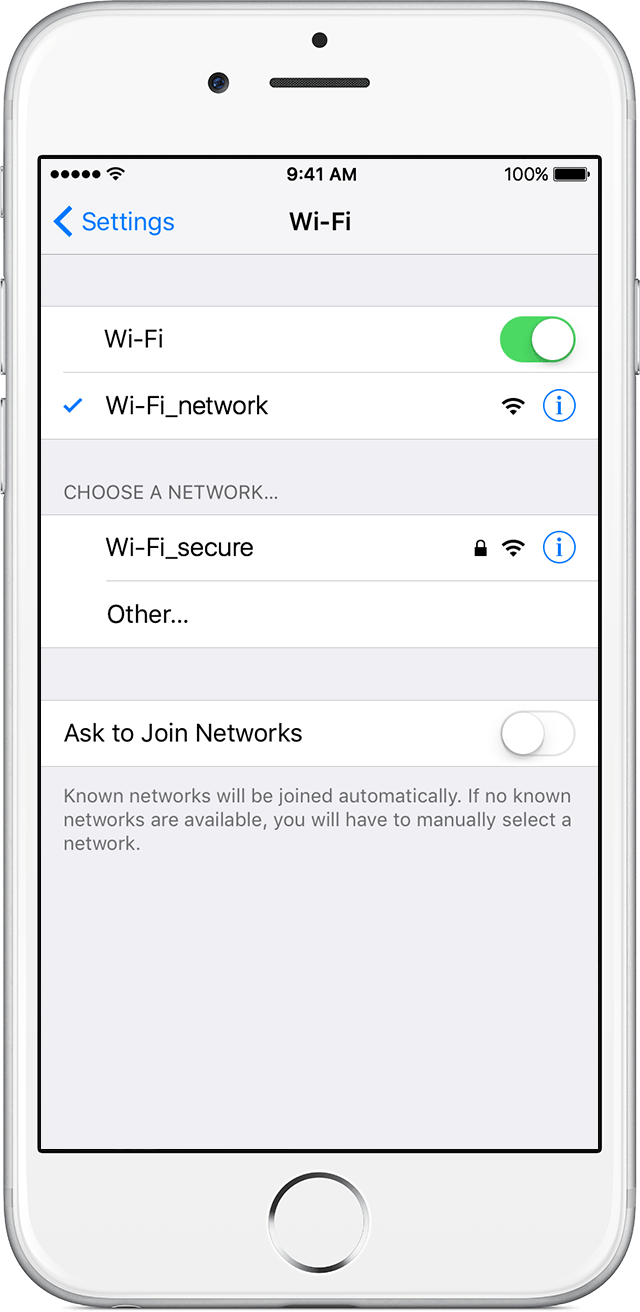 how to connect iphone 4s to wireless network