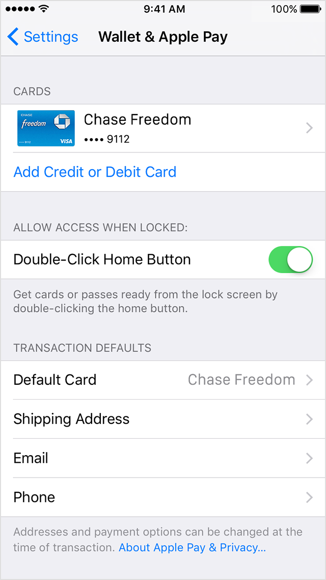 set up and use apple pay on your iphone or ipad technominds