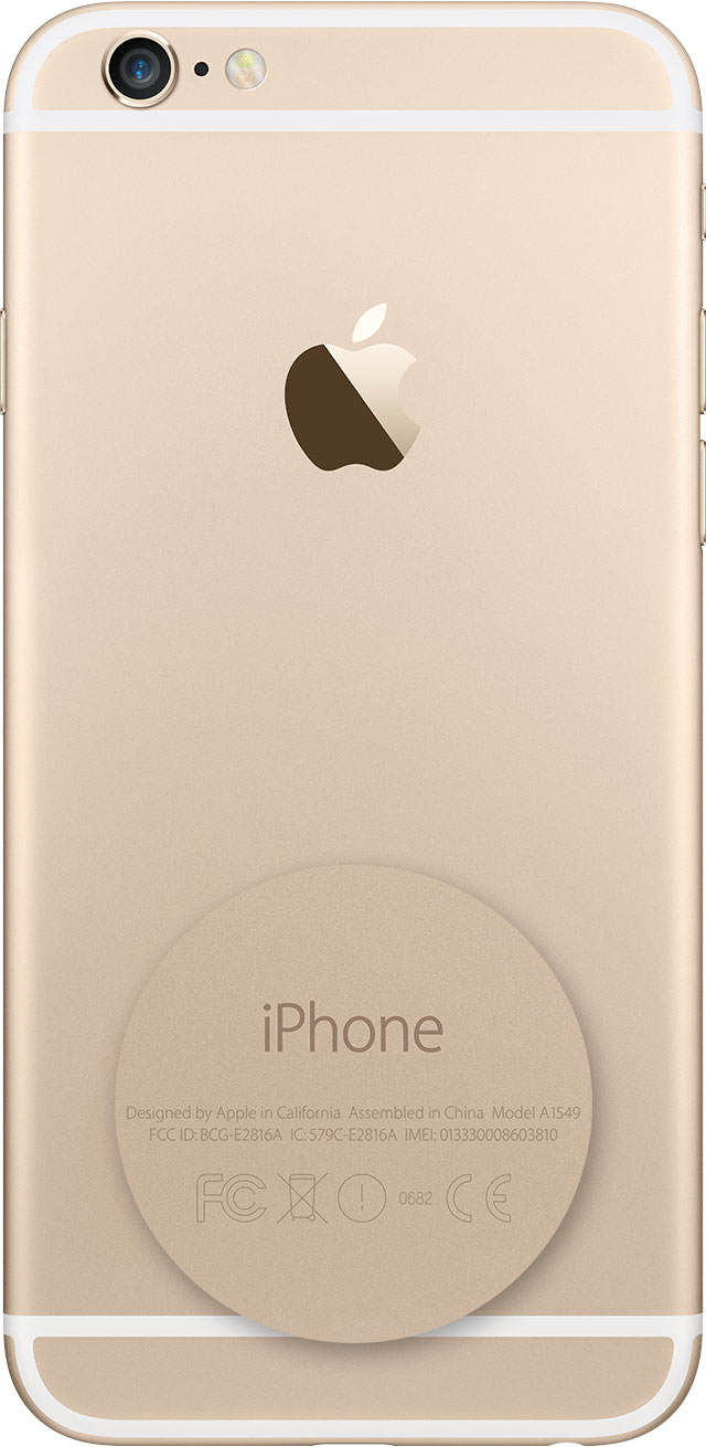On many models of iPhone 5 and iPhone 6, find the serial number in Settings and the IMEI/MEID (the MEID is the first 14 digits of the IMEI) on the back.