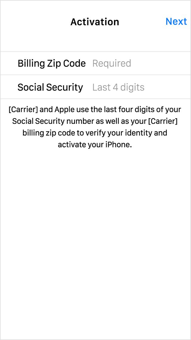 Number asking for mobile logo