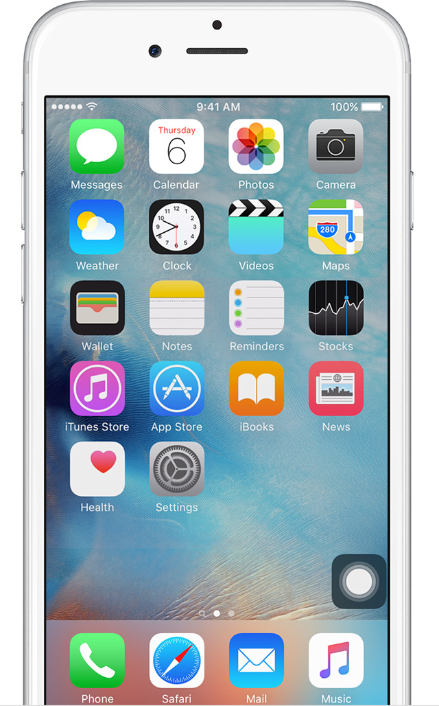 Iphone Default Home Screen Ios