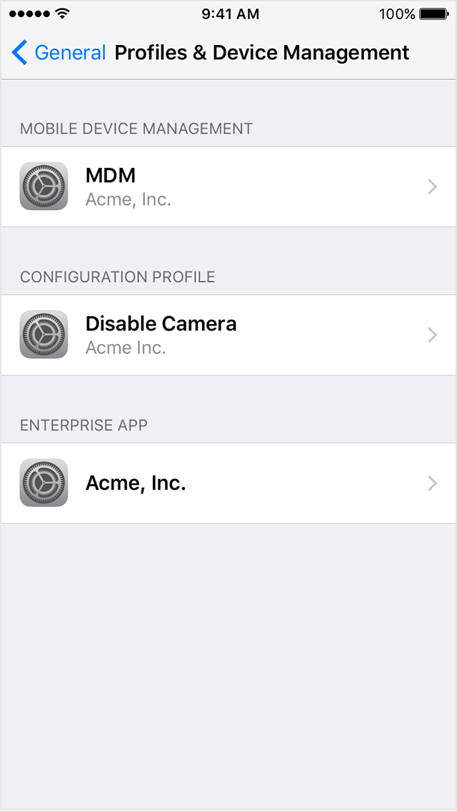 Install custom enterprise apps on iOS - Apple Support