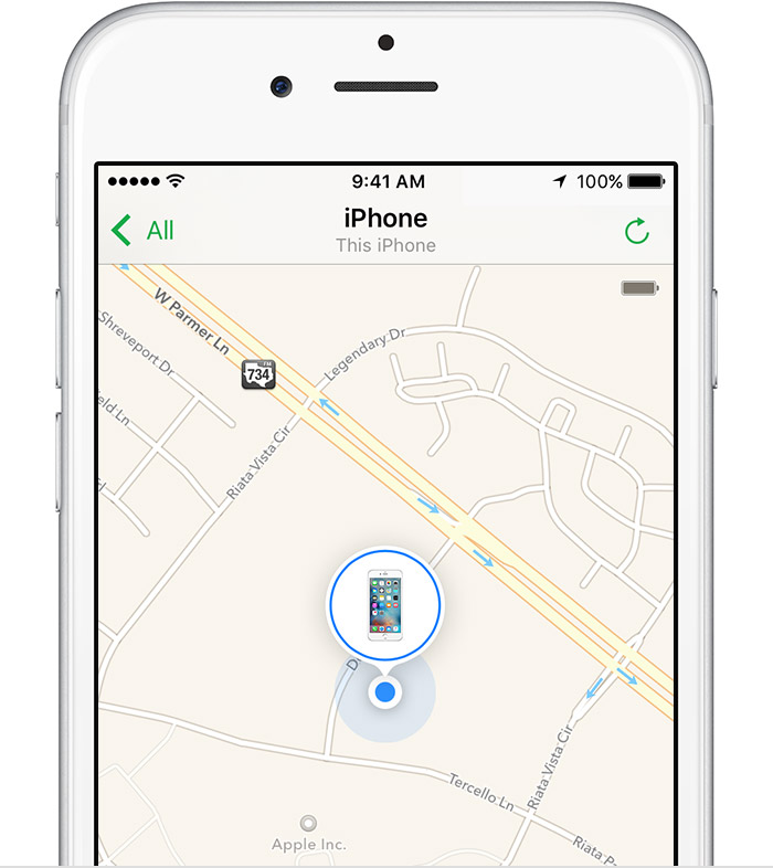 how to find my iphone when its off