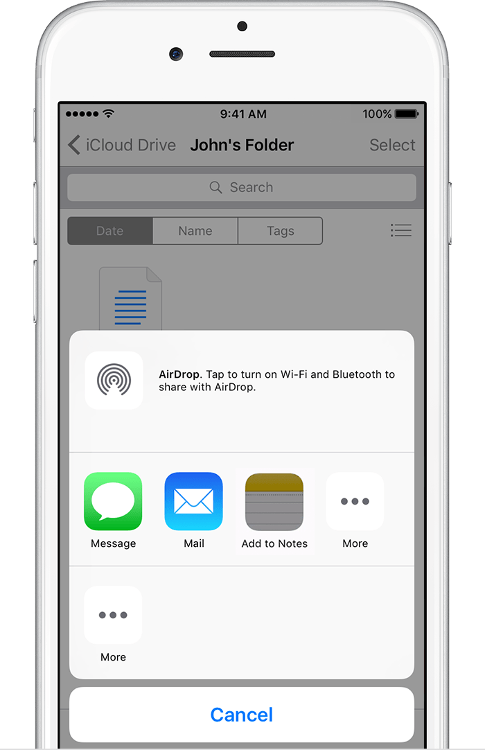Import your notes and files to the Notes app - Apple Support